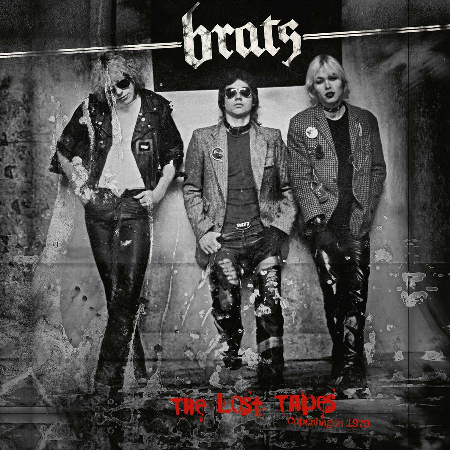 HRR 791LP BRATS The Lost Tapes Cover.indd