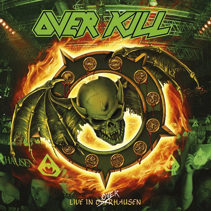 Overkill - Live In Overhausen - Artwork