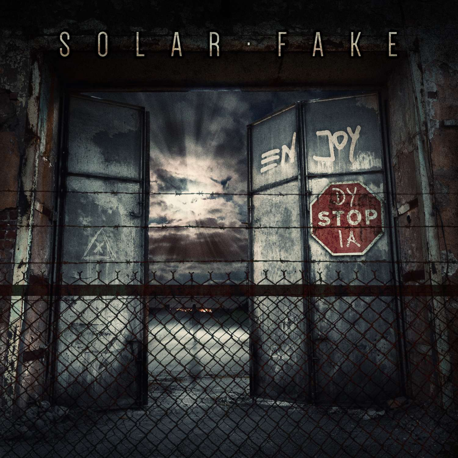 Solar-Fake-Enjoy-Dystopia-Cover