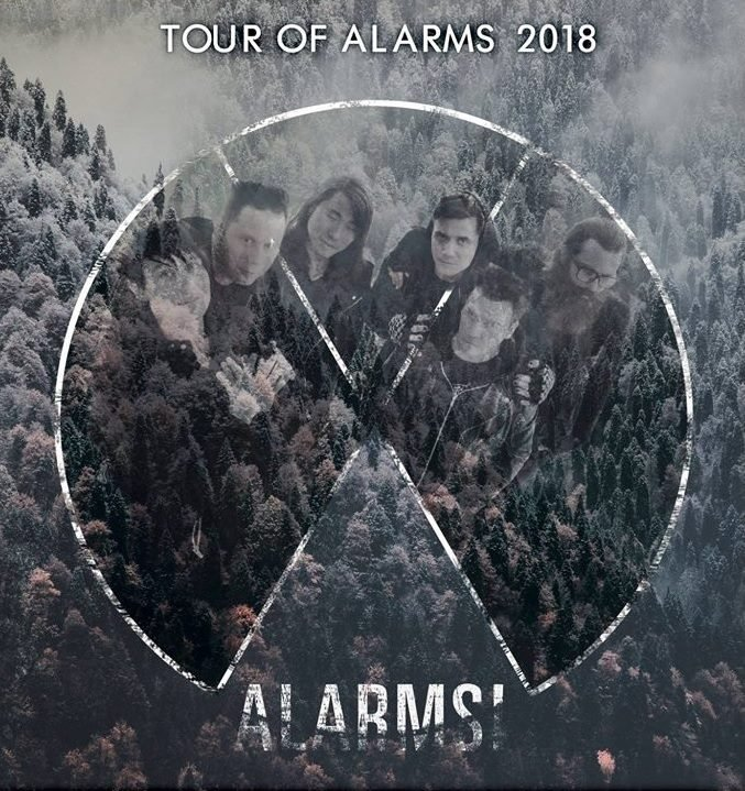 Exploding Boy Tour of Alarms