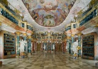 Ulm-Wiblingen: Kloster, Bibliothekssaal 2005