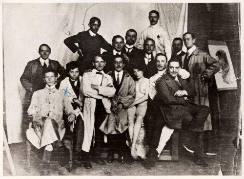 09_stryjenska-als-mann-in-akademie_1911-kl