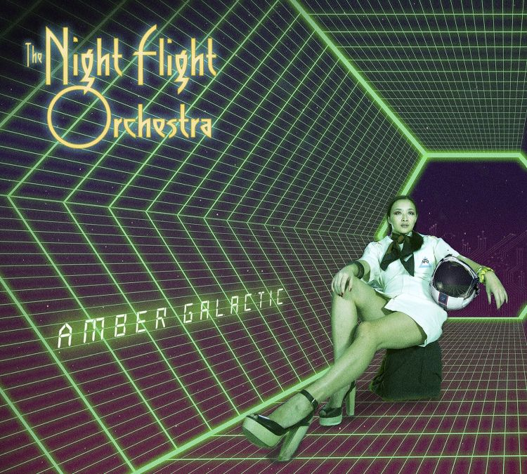 The Night Flight Orchestra - Amber Galactic - Artwork