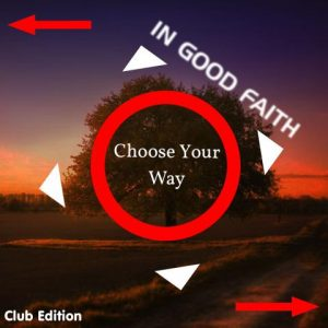 Choose your way Cover