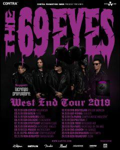 69 Eyes Tour